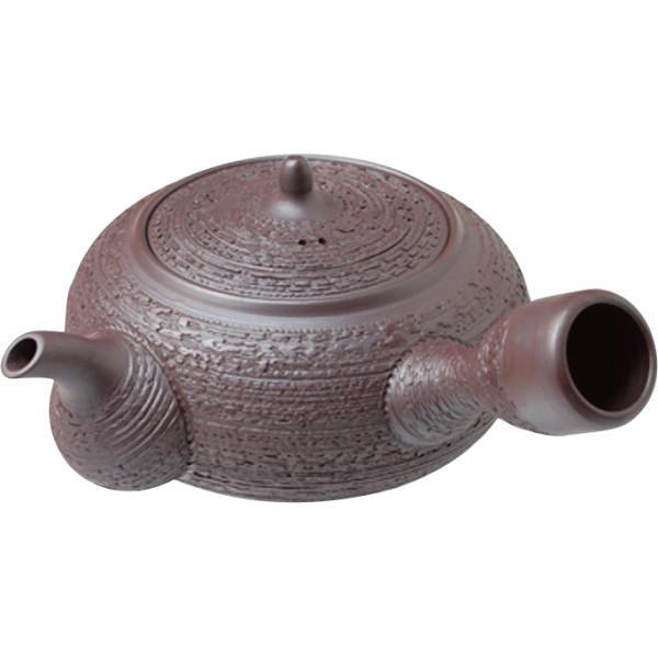 萬古焼 実山作 手造り1.5号急須 和陶器 和陶茶器 急須単品 M‐7066(代引不可)【送料無料】