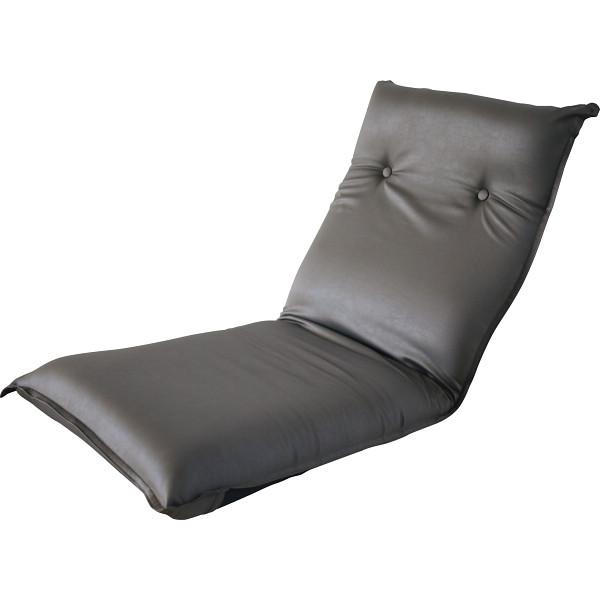 低反発リクライニングフロアチェア ブラウン 木製品 家具 ソファ 座椅子 肘なし座椅子 SS-5BR(代引不可)【送料無料】