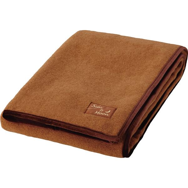 キャメル ラムウール 敷毛布 アースプロダクト 寝装品 毛布 その他 JPS81255(代引不可)【送料無料】