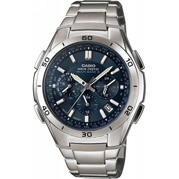 CASIO カシオ ソーラー電波 メンズ腕時計 ブルー 装身具 紳士装身品 紳士腕時計 WVQ-M410DE-2A2JF(代引不可)【送料無料】