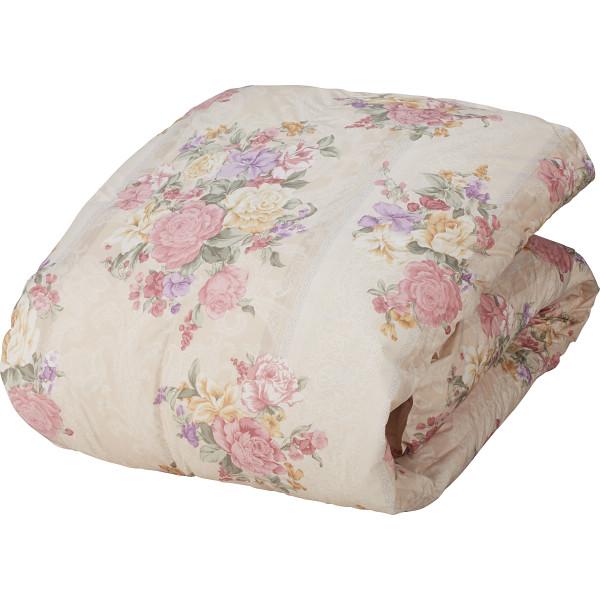 羽毛合掛けふとん ピンク 寝装品 布団 ケット 羽毛布団 1344-54461(代引不可)【送料無料】