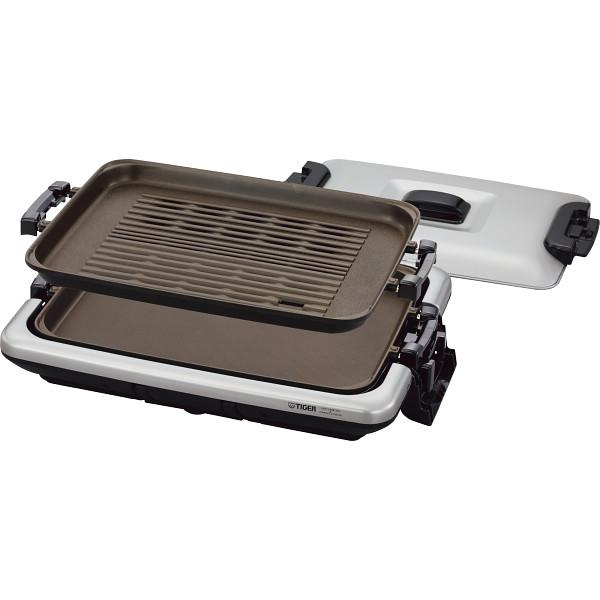 タイガー ホットプレート「モウいちまい」 メタリックブラウン 電化製品 電化製品調理機器 ホットプレ-ト CRV-G200SN(代引不可)【送料無料】