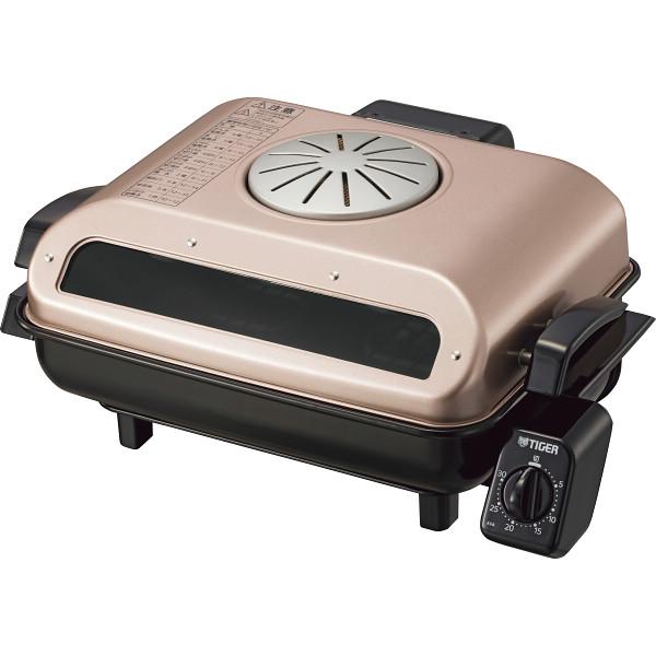 タイガー フィッシュロースター(両面焼き) ロゼブラウン 電化製品 電化製品調理機器 その他調理小物 KFA-H130RT(代引不可)【送料無料】