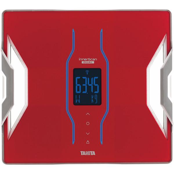 タニタ 体組成計インナースキャンデュアル レッド 健康機器 体重計 デジタル式体重計 RD-903-RD(代引不可)【送料無料】