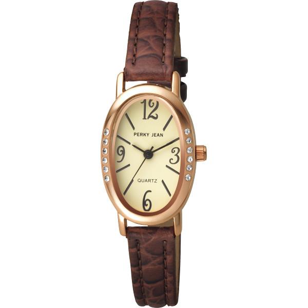 パーキージーン パーキージーン レディース腕時計 ブラウン 装身具 婦人装身品 婦人腕時計 PW003‐006(代引不可)【送料無料】