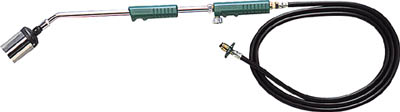 TRUSCO プロパンバーナー ホース5M付 火口径7号【TB-L7-5M】(土木作業・大工用品・プロパンバーナー)