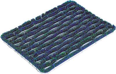コンドル (屋外用マット)ユニクリーンマット 2(440×730mm)【F-23-2】(床材用品・マット)