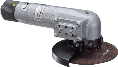 ヨコタ 消音型ディスクグラインダー【G40-S】(空圧工具・エアグラインダー)
