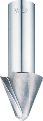 FKD テーパーエンドミル2枚刃15°×4【2TE15X4】(面取り工具・工作機用面取り工具)【送料無料】
