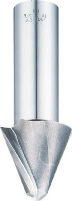 FKD テーパーエンドミル2枚刃15°×8【2TE15X8】(面取り工具・工作機用面取り工具)【送料無料】
