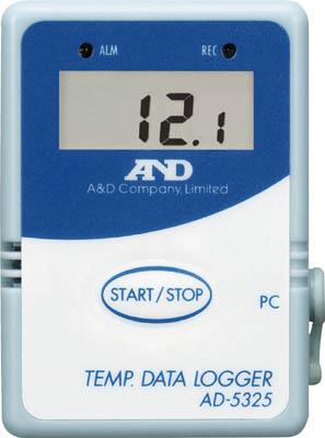 A&D 温度データーロガー 4000メモリースタート・セット【AD5324SET】(計測機器・温度計・湿度計)