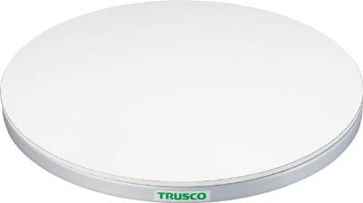 TRUSCO 回転台 50Kg型 Φ400 ポリ化粧天板【TC40-05W】(作業台・回転台)