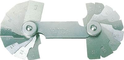 TRUSCO ラジアスゲージ 測定範囲13.00~22.0 10枚組【272MC】(測定工具・ゲージ)
