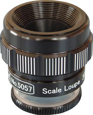 リーフ スケールルーペ 5057 ルーペ 流行 精密測定機器 訳あり 光学