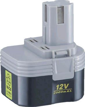 リョービ ニカド電池パック 12V【B-1220F2】(電動工具・油圧工具・インパクトドライバー)