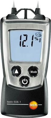 テストー ポケットライン材料水分計 TESTO606-1【TESTO-606-1】(計測機器・水質・水分測定器)