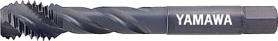 ヤマワ ショートスパイラルタップ【S-SP-M22X2.5】(ねじ切り工具・スパイラルタップ)