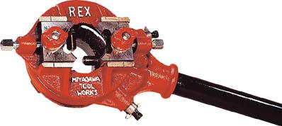REX ベビーリード型パイプねじ切器 2R3【2R3】(水道・空調配管用工具・ねじ切り機)