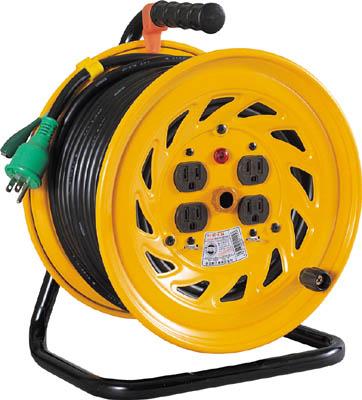 日動 電工ドラム 標準型100Vドラム アース付 30m【NF-E34】(コードリール・延長コード・コードリール100V)