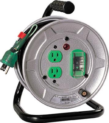 日動 電工ドラム 標準型100Vドラム アース漏電しゃ断器付 10m【NS-EB12】