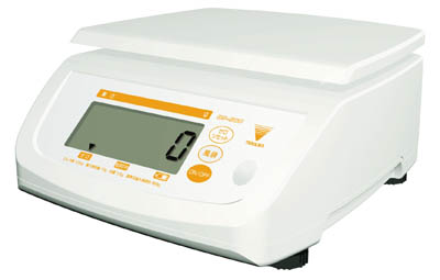 テラオカ 防水型デジタル上皿はかり【DS-500K2】(計測機器・はかり)