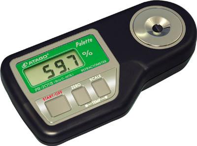 アタゴ デジタル糖度計【PR-201A】(計測機器・水質・水分測定器)(代引不可)