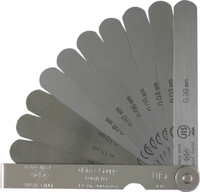 DIA JIS規格すきまゲージ150A12【150A12】(測定工具・ゲージ)
