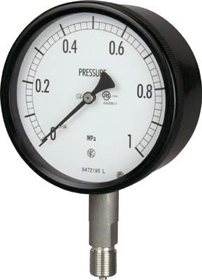 長野 密閉形圧力計【BE10-133-1.6MP】(計測機器・圧力計)