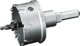 ユニカ 超硬ホールソーメタコアトリプル 60mm【MCTR-60】(穴あけ工具・ホールカッター)
