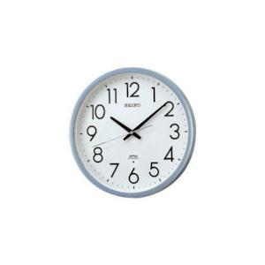 SEIKO 電波掛時計 直径390×52 P枠 銀色半光沢 KS265S【送料無料】