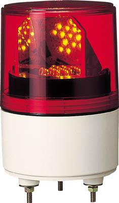 パトライト RLE型 LED超小型回転灯 Φ82【RLE-100-R】(電気・電子部品・表示灯)