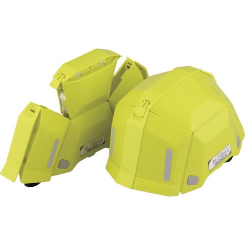 トーヨーセフティ 防災用 折りたたみヘルメット BLOOM2 ライム NO.101LM