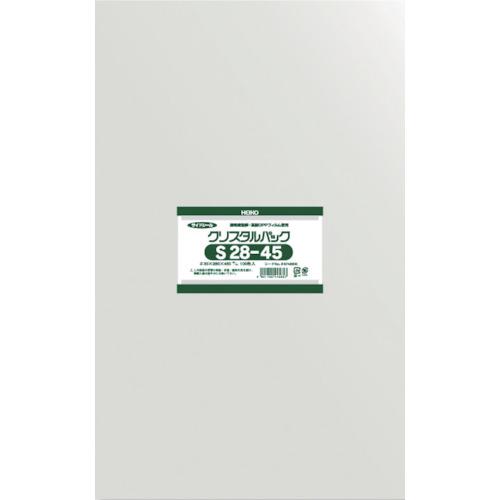 HEIKO 新生活 OPP袋 テープなし S28-45 6748600S2845 クリスタルパック ☆送料無料☆ 当日発送可能