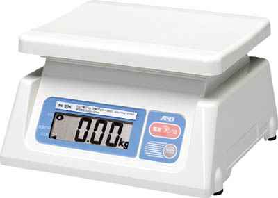 A&D デジタルはかりスケールボーイ0.02kg/30kg【SL30K】(計測機器・はかり)