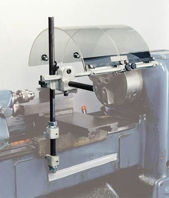 フジ マシンセフティーガード 旋盤用 ガード幅400mm 2枚仕様【LD-124】(ツーリング・治工具・旋盤用工具)(代引不可)