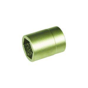A-MAG 防爆6角ディープソケット差込角1/2インチ用 対辺6mm 0350027S【送料無料】