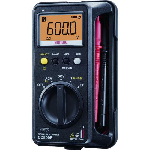 SANWA デジタルマルチメータ SANWA CD800F【送料無料】, 松戸市:08767f0b --- officewill.xsrv.jp