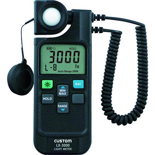 カスタム LEDモード付きデジタル照度計 LX3000【送料無料】