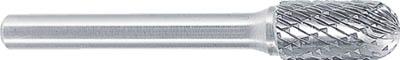 スーパー 超硬バーシャンク径6ミリ(先丸円筒型)ダブルカット(刃径:19.0)【SB2C10】(研削研磨用品・超硬バー)