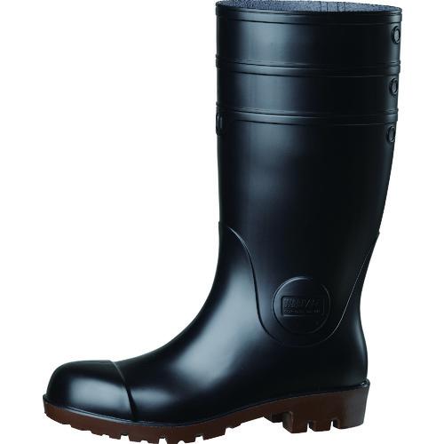 送料無料 ミドリ安全 耐油 耐薬 セットアップ 安全長靴 NW1000SPBK26.0 NW1000スーパー 日本限定 ワークエース ブラック 26.0CM
