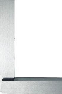 ユニ 焼入台付スコヤー(JIS1級) 125mm【ULAY-125】(測定工具・スコヤ・水準器)