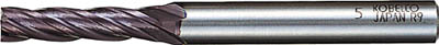 三菱K 超硬ミラクルエンドミル8.0mm【VC4JCD0800】(旋削・フライス加工工具・超硬スクエアエンドミル)【送料無料】