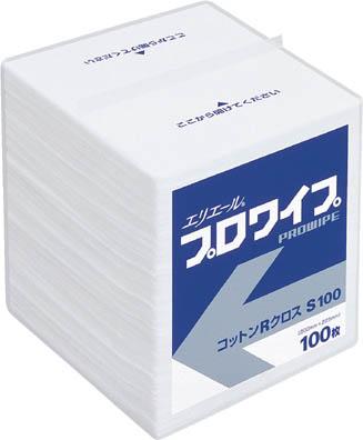 エリエール プロワイプ コットンRクロス S100 30パック入【623247】(理化学・クリーンルーム用品・クリーンルーム用ウエス)
