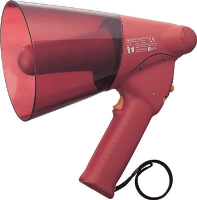 TOA 小型ハンド型メガホン サイレン音付き【ER-1106S】(安全用品・標識・拡声器)