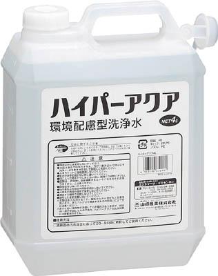 コンドル (洗剤)ハイパーアクア 4L【CH560-040X-MB】(清掃用品・洗剤・クリーナー)