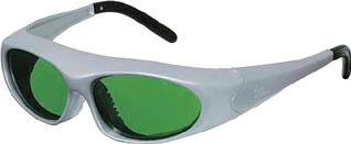 リケン レーザー保護メガネYAGレーザー【RSX-2-YG】(保護具・レーザー用保護メガネ)