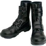 シモン 安全靴 マジック式 8538黒 25.5cm【8538N-25.5】(安全靴・作業靴・安全靴)