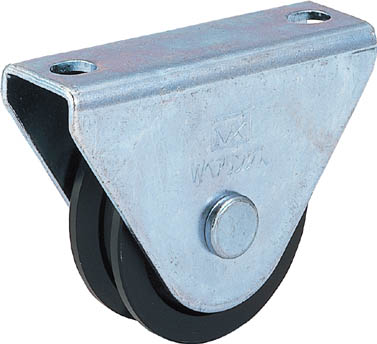 MK 枠付重量車 150mm V型【C-1000-150】(建築金物・工場用間仕切り・戸車)