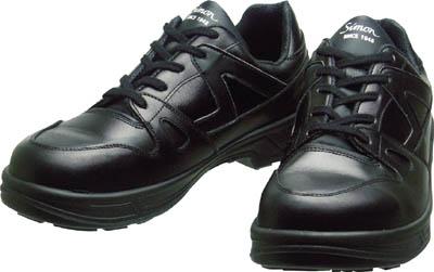 シモン 安全靴 短靴 8611黒 24.5cm【8611BK-24.5】(安全靴・作業靴・安全靴)