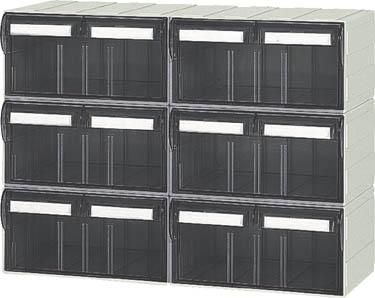 サカセ ビジネスカセッター Sタイプ S241×6個セット品【S-S241】(工場用保管設備・小型パーツケース)